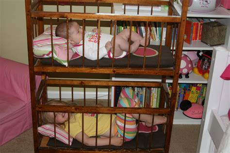 Crib Loft Bed by The Hamiltons 6 Weeks