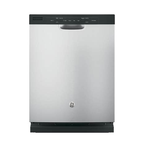 ge front dishwasher in stainless steel gdf510psjss