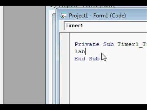 youtube tutorial visual basic 6 0 visual basic 6 0 tutorial timers reminders youtube