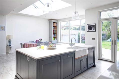 Kitchen Grey surrey noel dempsey design