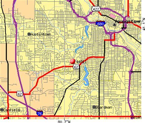 zip code map youngstown ohio 44511 zip code youngstown ohio profile homes