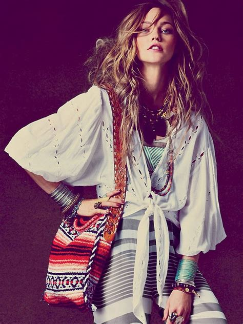 bohemian style inspired admired bohemian fashion inspiration photos