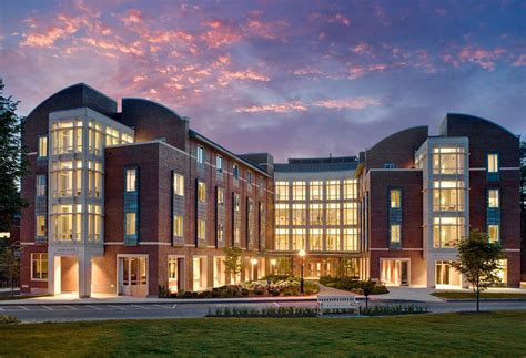 Dartmouth College Tuck Mba by Tuck Living And Learning Complex Goody Clancy