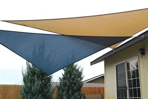 patio sun shades which materials can you use ebay easy canopy ideas to add more shade to your yard