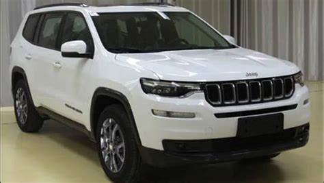jeep compass 7 seater jeep grand commander 7 seater suv revealed in
