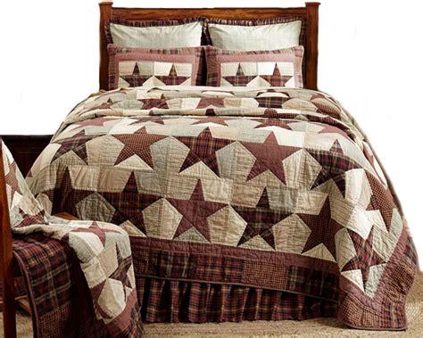 Farmhouse Quilt by Abilene Quilt Brown Farmhouse Quilts
