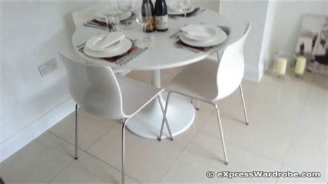 Ikea Chair Hack Ikea Docksta Table With Erland Chairs Dining Set Design