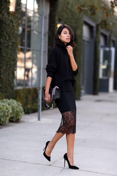 how to wear lace skirts 2018 fashiongum