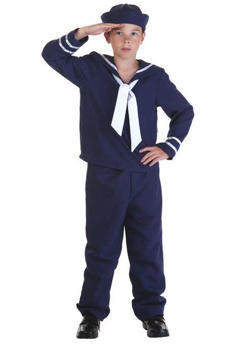 Sailor Blue child blue sailor costume