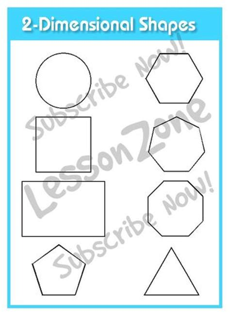 printable two dimensional shapes worksheets 4 best images of 2 dimensional shapes printable 2