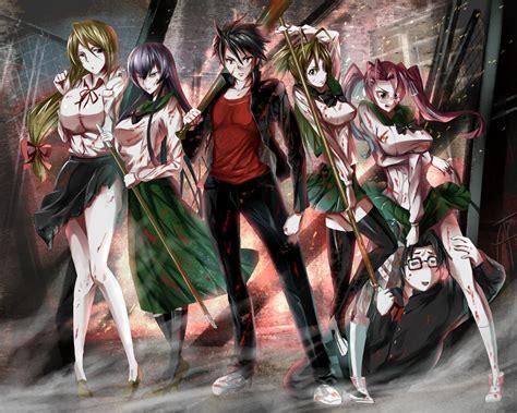 anime high school of the dead highschool of the dead fondo de pantalla and fondo de