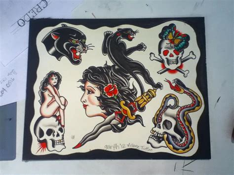 tattoo flash art gallery portfolio village tattoo romeo