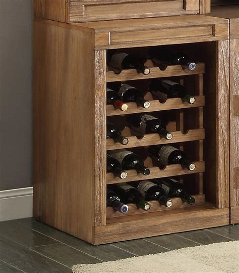 base cabinet wine storage parker house hickory creek bookcase cabinet with wine