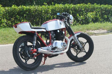 Suzuki Gs450 Cafe Racer Cafe Racer Suzuki Gs450 Custom Vintage Road Race Style