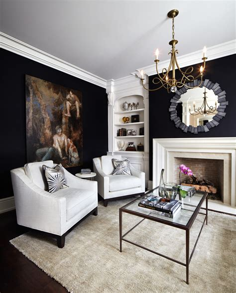 superb black wall mirrors decorating ideas gallery in living room traditional design ideas