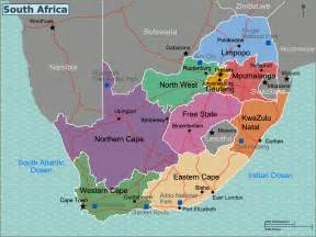 Map South Africa by File South Africa Regions Map Png