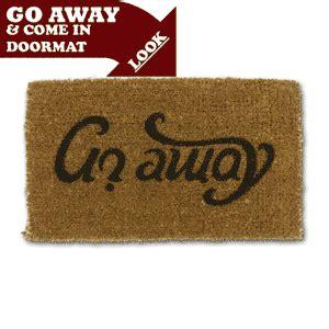 Go Away Come In Doormat come in go away doormat drinkstuff