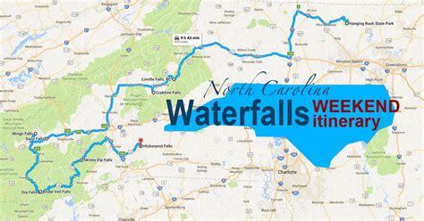 carolina waterfalls map see 10 beautiful carolina waterfalls on this weekend