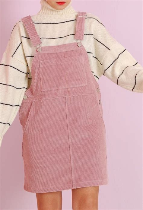 Pink Pinafore by Pink Corduroy Pinafore Dress On The Hunt