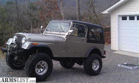 Jeep Cj For Sale In Armslist For Sale 1982 Jeep Cj7