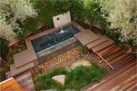 garten 40 qm bild kleiner garten terrasse wasserspiele