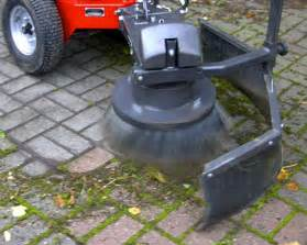 Patio Cleaning Machines Chemical Free Weed Clearing With The Wkb H K Weed Brush