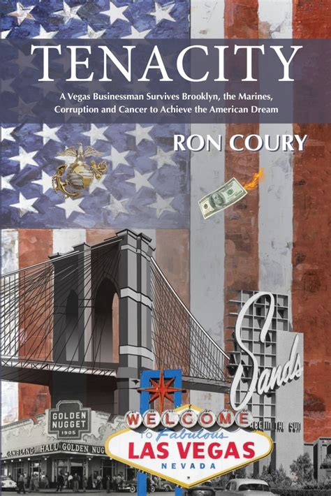 ron coury american author   book tenacity  true life story