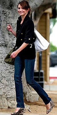 Get Leopard Print Flats Like Cameron And Reese by Cameron Diaz Casual Looks Instyle