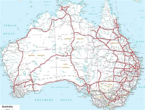 driving map of australia dave shell s travels our adventures on the great
