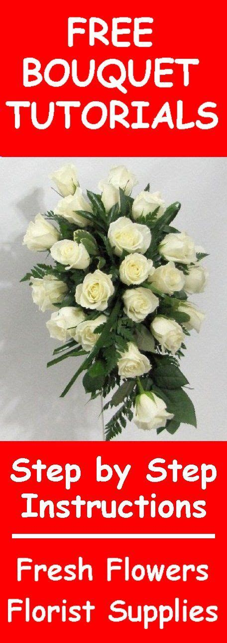 Wedding Bouquet Tutorial by 129 Best How To Make A Wedding Bouquet Images On
