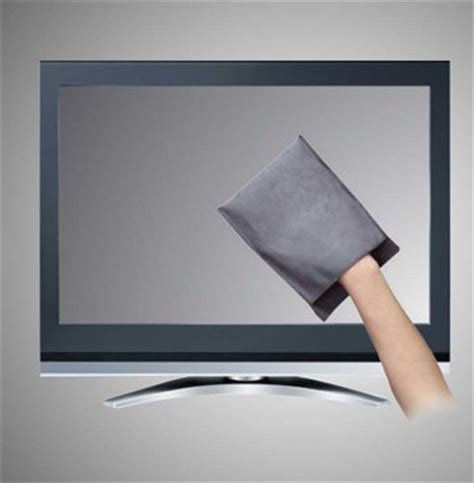 how to properly clean a plasma tv screen