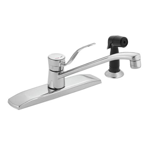Kitchen Single Handle Faucet by Faucet Com 8720 In Chrome By Moen