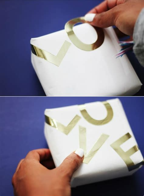 foil gift wrap seven creative gift wrapping ideas for s day