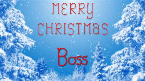 merry christmas boss  special message    youtube