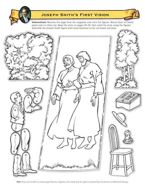 coloring pages joseph smith s first vision lds coloring pages 2018 2009