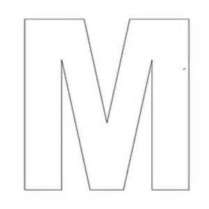 Letter M Template by Letter M Crafts Preschool And Kindergarten