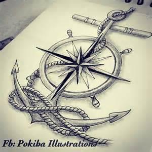 25 best anchor compass tattoo ideas on pinterest anchor