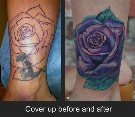 jamie parker rose cover up tattoo tatuering