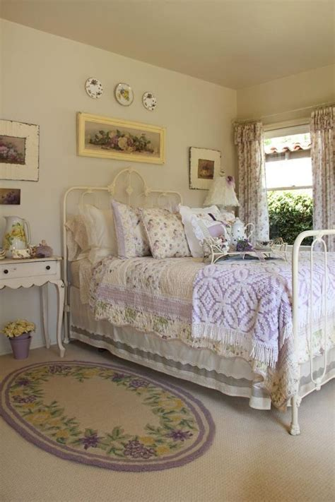 cottage style bedding and curtains beautiful iron bed and oyher great cottage details picture
