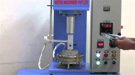 Paper Plate Machine - paper plate machine semi automatic in working condition