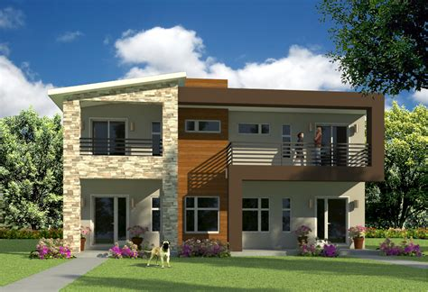 home design for duplex modern duplex house plans duplex house design house