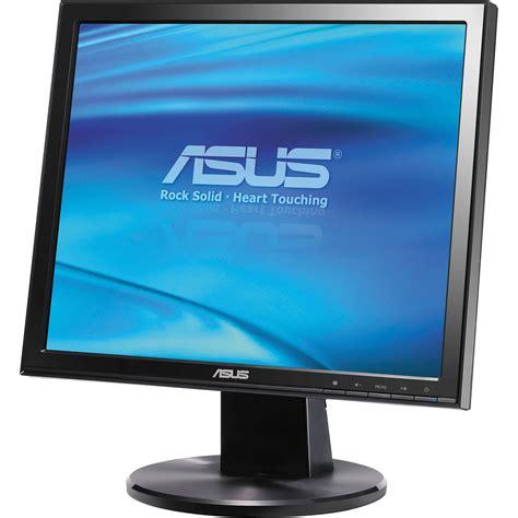 Asus Laptop Screen All Black asus vb171t 17 quot lcd computer display black vb171t b h