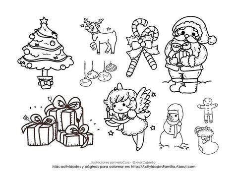 imagenes de navidad para colorear pdf dibujos de navidad para colorear