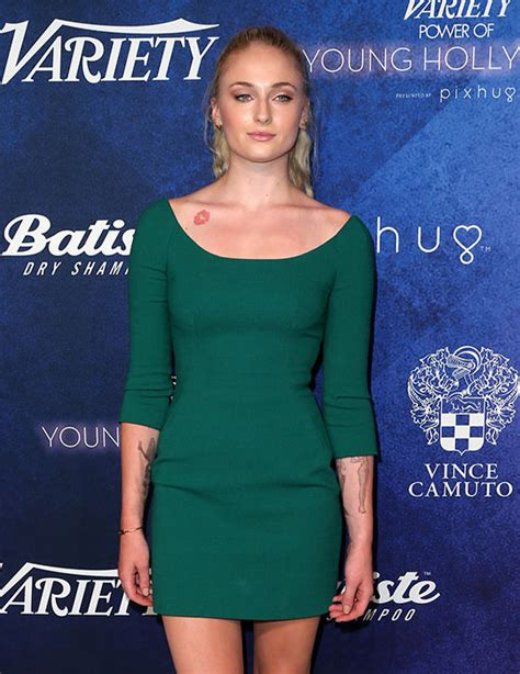 game of thrones star sophie turner adds new designs to her