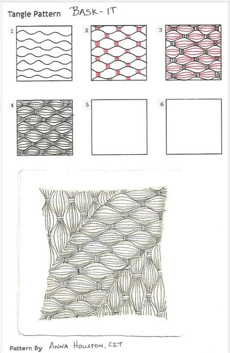 how to draw tangle doodle how to draw bask it 171 tanglepatterns zentangle