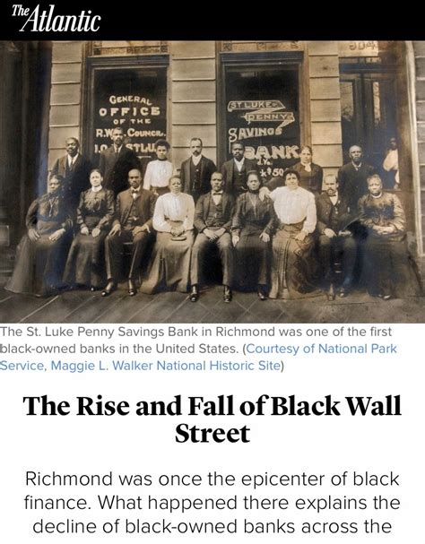 what happened to bank the rise and fall of black wall newafrikan77