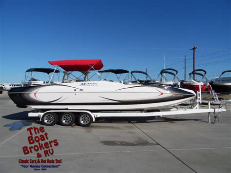 magic deck boat for sale used power boats magic boats for sale boats