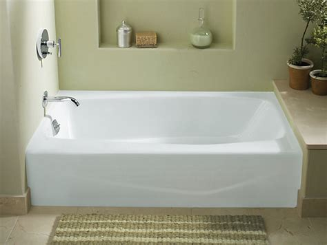 Bathtub Ideas For Small Bathrooms K 715 Villager 60 Quot X 30 1 4 Quot Alcove Commercial Bath With