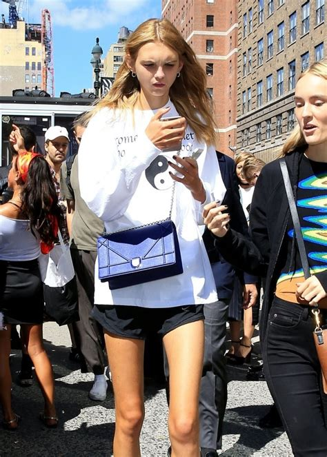 Top Model Sightings At Fashion Week by New York Fashion Week Sightings 1 Of 8 Zimbio