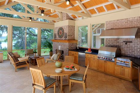 beautiful outdoor kitchens 40 beautiful outdoor kitchen designs